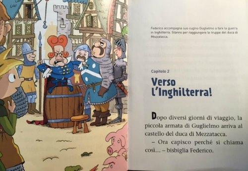 Federico Piccolo Cavaliere letture bambini prima elementare