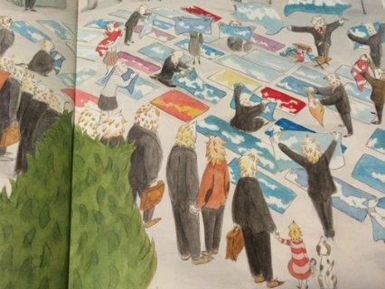 omino del blu Zoolibri libri per bambini 4