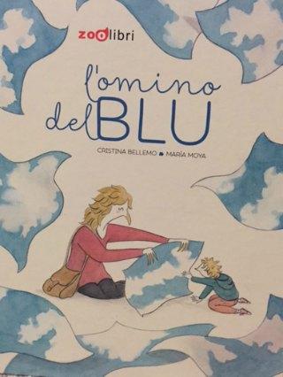 omino del blu Zoolibri libri per bambini copertina