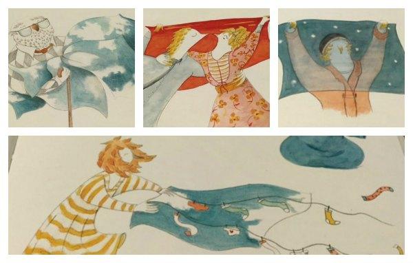 omino del blu Zoolibri libri per bambini