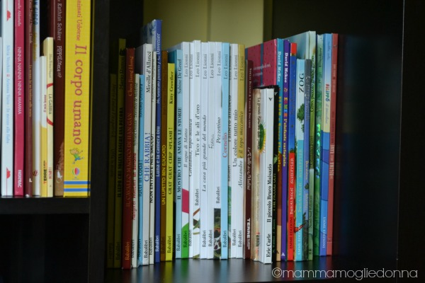 tenere in ordine la libreria dei bambini 2