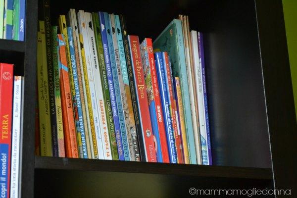 tenere in ordine la libreria dei bambini 3