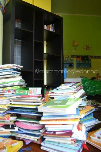 tenere in ordine la libreria dei bambini 4