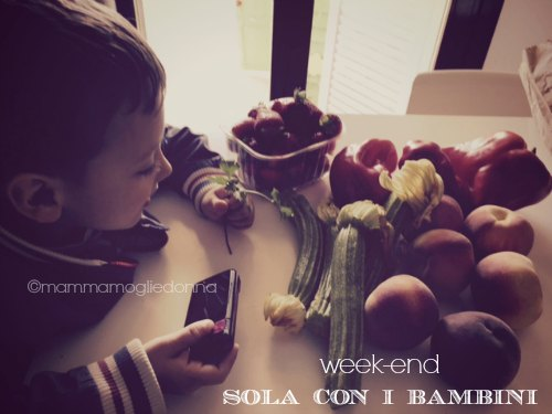 week-end sola con i bambini 2