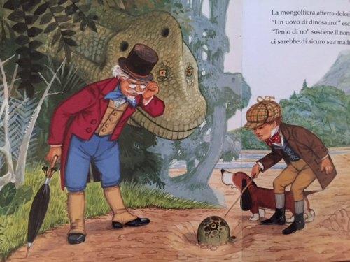 qualcuno ha visto un dinosauro