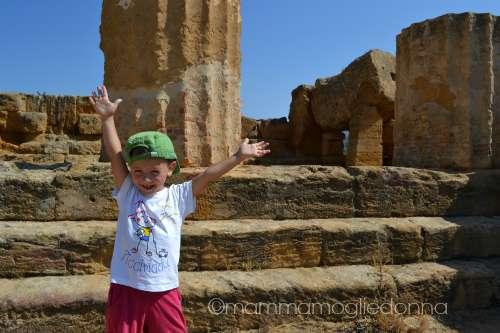 Valle dei Templi con i bambini 4