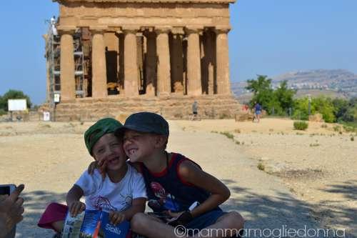 Valle dei Templi con i bambini 7