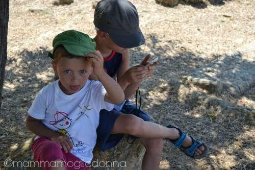 Valle dei Templi con i bambini