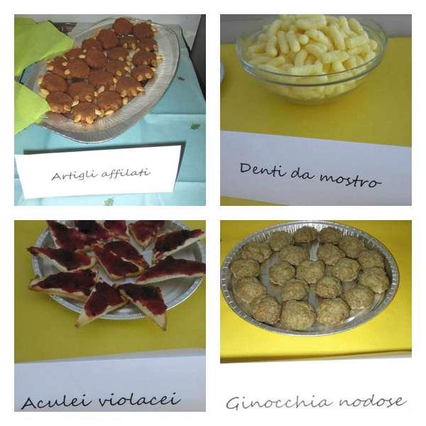 Festa compleanno tema Gruffalò collage 1