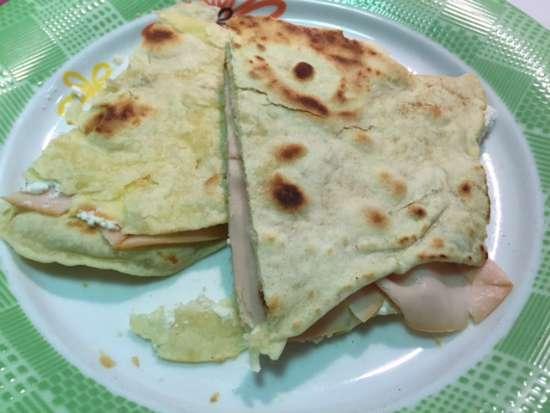 ricetta piadine senza strutto 4