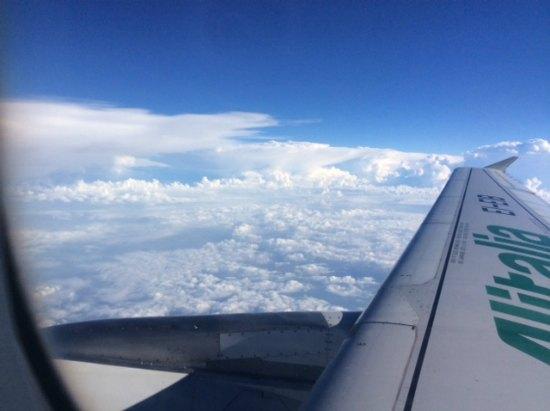 mentre sono sulle nuvole 1