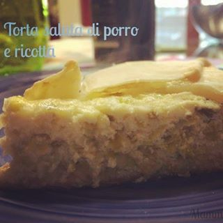 Oggi sul blog una ricetta imperdibilelinkinbio torta salata di porrihellip