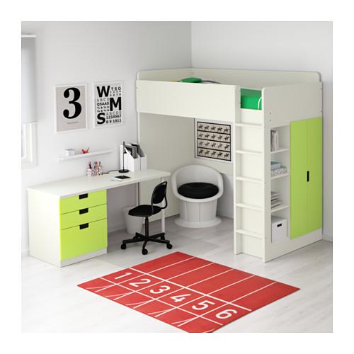 Letto A Soppalco Matrimoniale Ikea.10 Buone Ragioni Per Scegliere La Cameretta Stuva Di Ikea