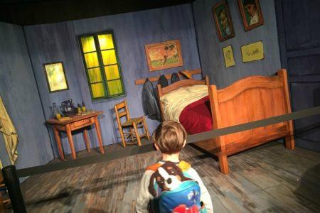 Cameretta di Van Gogh - mostra van gogh Alive