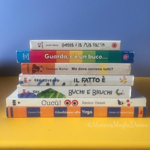 Libri cartonati per bambini di tutte le età