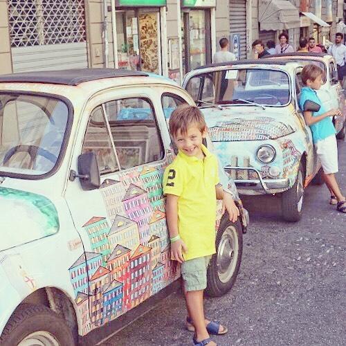 Sono in vacanza a Genova quindi non potevo fotografare mahellip
