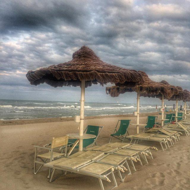 Oggi inizia la nostra vacanza al mare Il tempo nonhellip