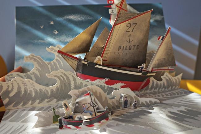 libri per bambini sul mare 2 Viaggio per mare, un libro pop-up di avventure e navi straordinarie - Gerard Lo Monaco