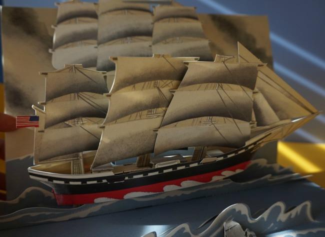 libri per bambini sul mare 3 Viaggio per mare, un libro pop-up di avventure e navi straordinarie - Gerard Lo Monaco