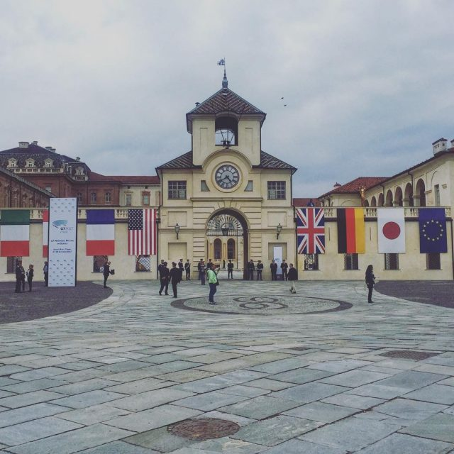 Waiting for G7 Italy  Venaria Torino  g7italy Torinohellip