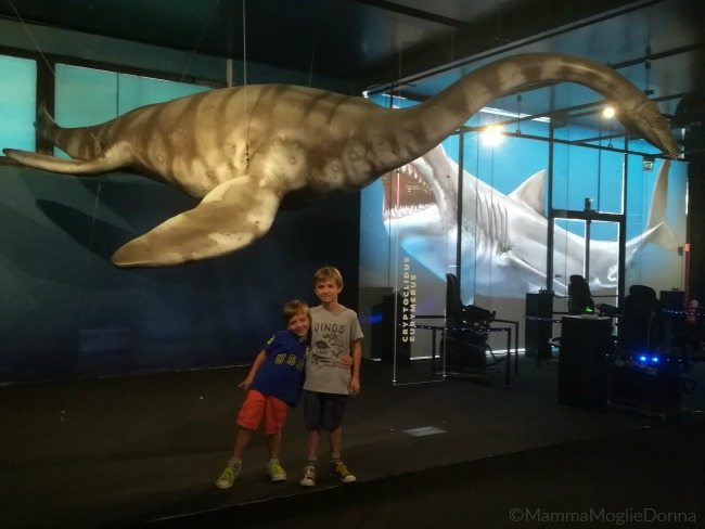 Paoleoaquarium in mostra a Genova il mare al tempo dei dinosauri 5