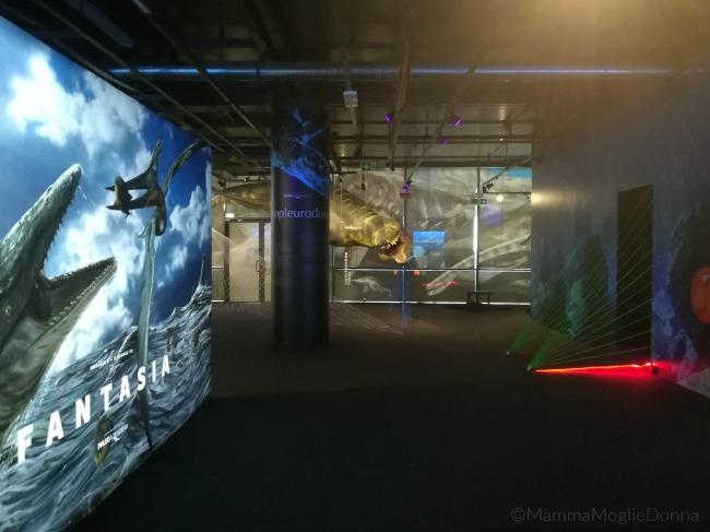 Paoleoaquarium in mostra a Genova il mare al tempo dei dinosauri