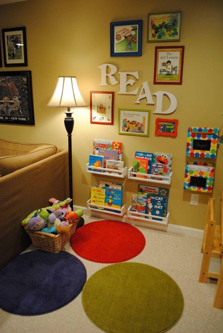 creare un angolo lettura per bambini