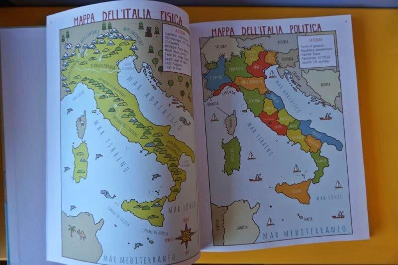 Molto Regioni d'Italia per bambini- scuola elementare | MammaMoglieDonna OU61