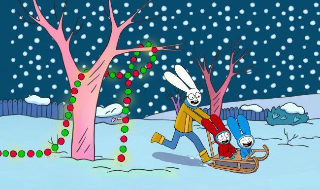 Il Coniglio Simone Di Stephanie Blake Diventa Un Cartone Animato