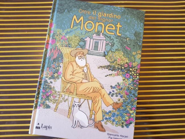 Libro su monet per bambini oltre il giardino del signor for Oltre il giardino