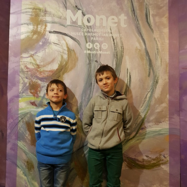 Mostra Monet per bambini Roma