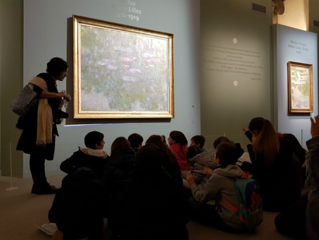 Mostra Monet per bambini Roma visita guidata 3