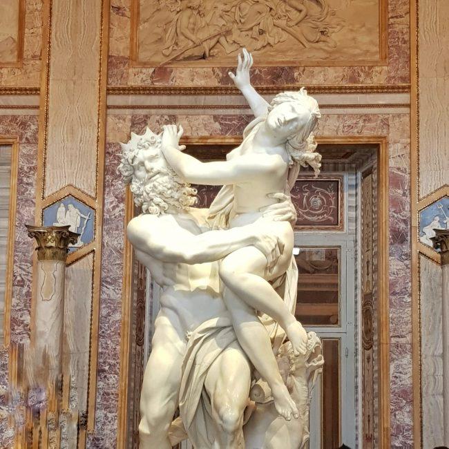 Il ratto di Proserpina,Bernini, Galleria Borghese