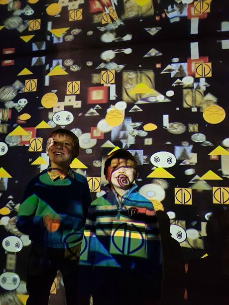 Klimt Experience con i bambini