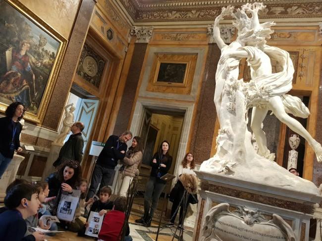 Visita Galleria Borghese con i bambini con Mamma Cult 2