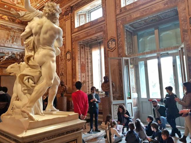 Visita Galleria Borghese con i bambini con Mamma Cult