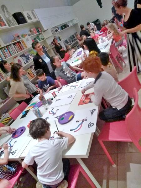 laboratorio per bambini sui colori e l'Astrattismo di Sonia Delaunay 2