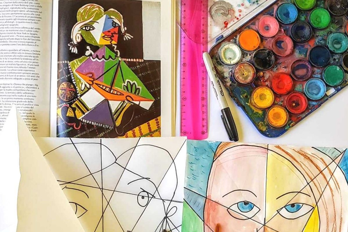 Realizzare Un Ritratto Cubista Alla Maniera Di Picasso Mammamogliedonna