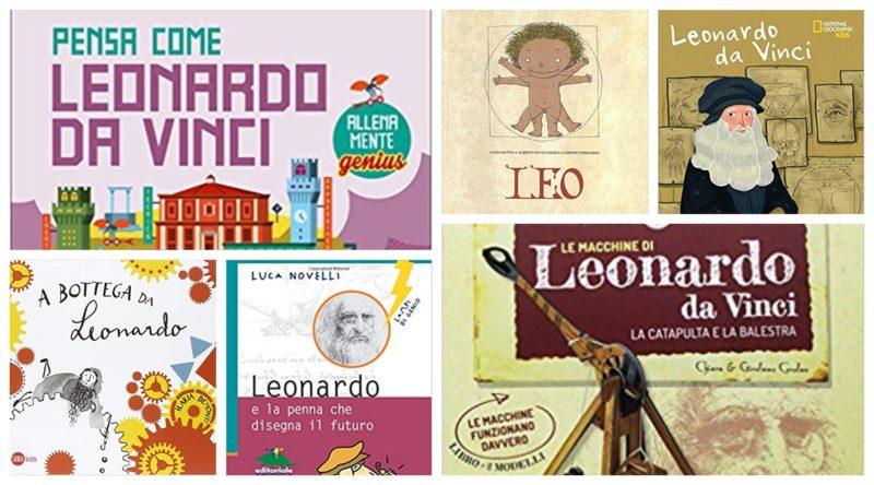 598b87722910ab Libri su Leonardo da Vinci per bambini (piccoli) – Leo, Lapis Edizioni